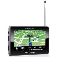 """GPS-Multilaser-Tracker-III--com-TV-Digital-e-FM-Tela-Touch-Screen-de-4.3""""-GP034-Preto"""