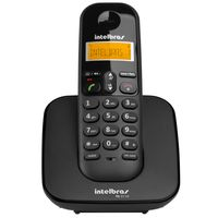 Telefone-sem-Fio-Dect-6.0--Identificador-de-Chamada-com-Display-luminoso---TS3110---Preto---Intelbra