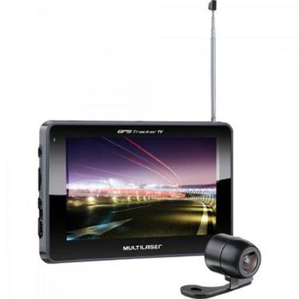 GPS-Multilaser-Tracker-III-com-Camera-de-Re-TV-Digital-e-FM-Tela-Touch-Screen-de-5.0----GP037---Preto