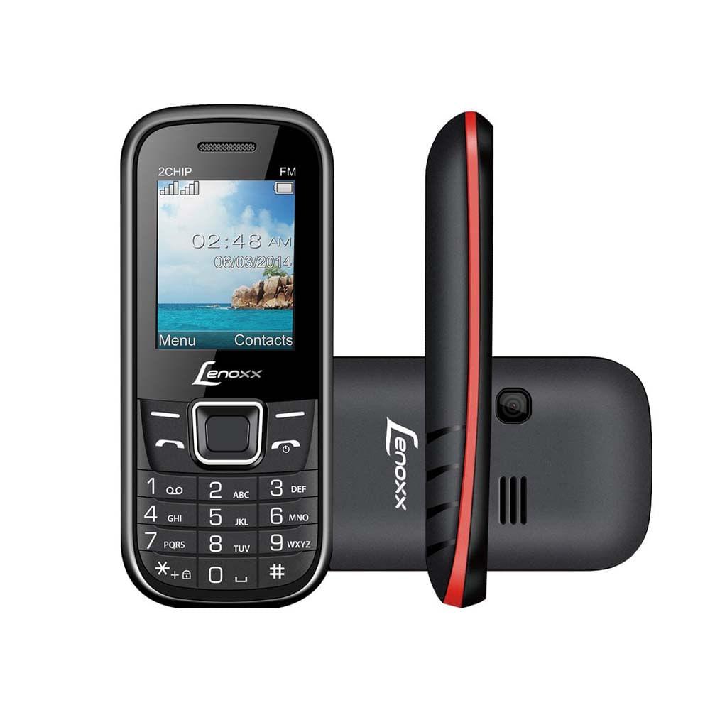 Celular-Dual-Chip-Preto---Vermelho-Cx903---Lenoxx