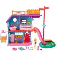 Polly-Pocket-Casa-De-Ferias-Da-Polly-FCH21--Mattel