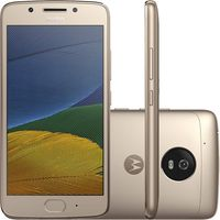 Smartphone-Moto-G5--Dual-Chip-4G-Android-7.0-Tela-5.2--32GB-Camera-13MP---Ouro