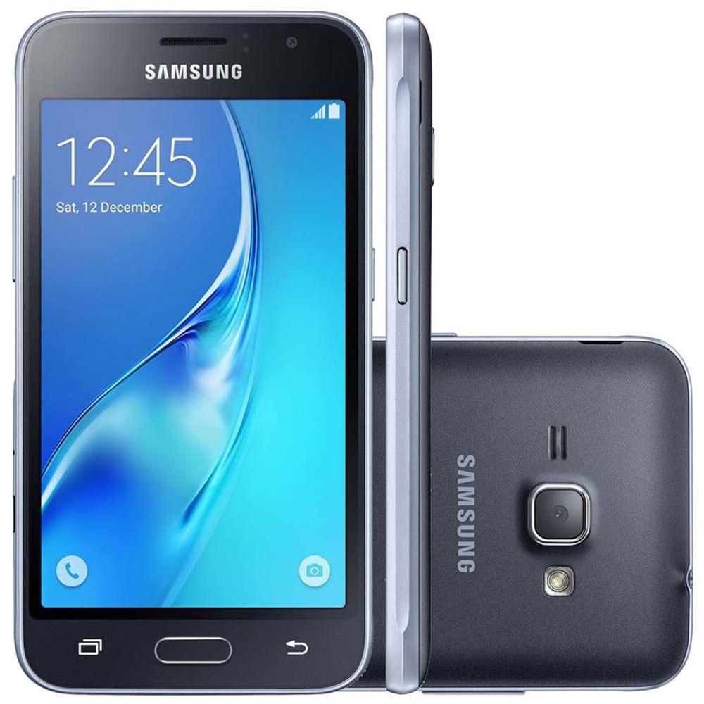 Smartphone-Samsung-Galaxy-J1-2016-Dual-Chip-3G-Tela-4.5--Camera-5MP-Frontal-2MP-Android-5.1-Pro