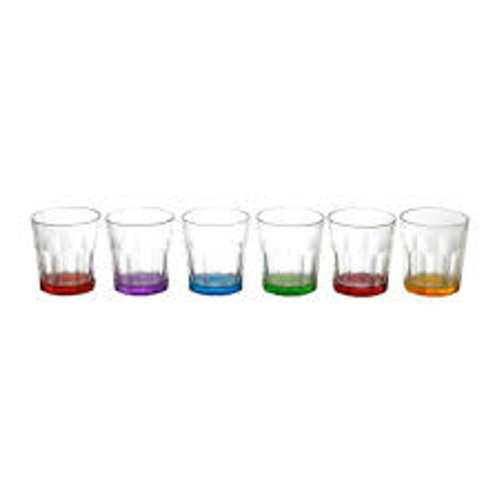 Conjunto-de-Copos-de-Vidro-Para-Licor-Elegante-Colorido-com-6-Pecas-6942---Rojemac