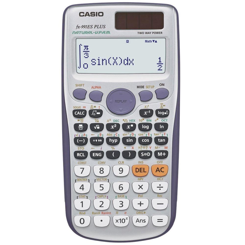 Calculadora-Cientifica-417-Funcoes-FX-991ES-Plus-Casio