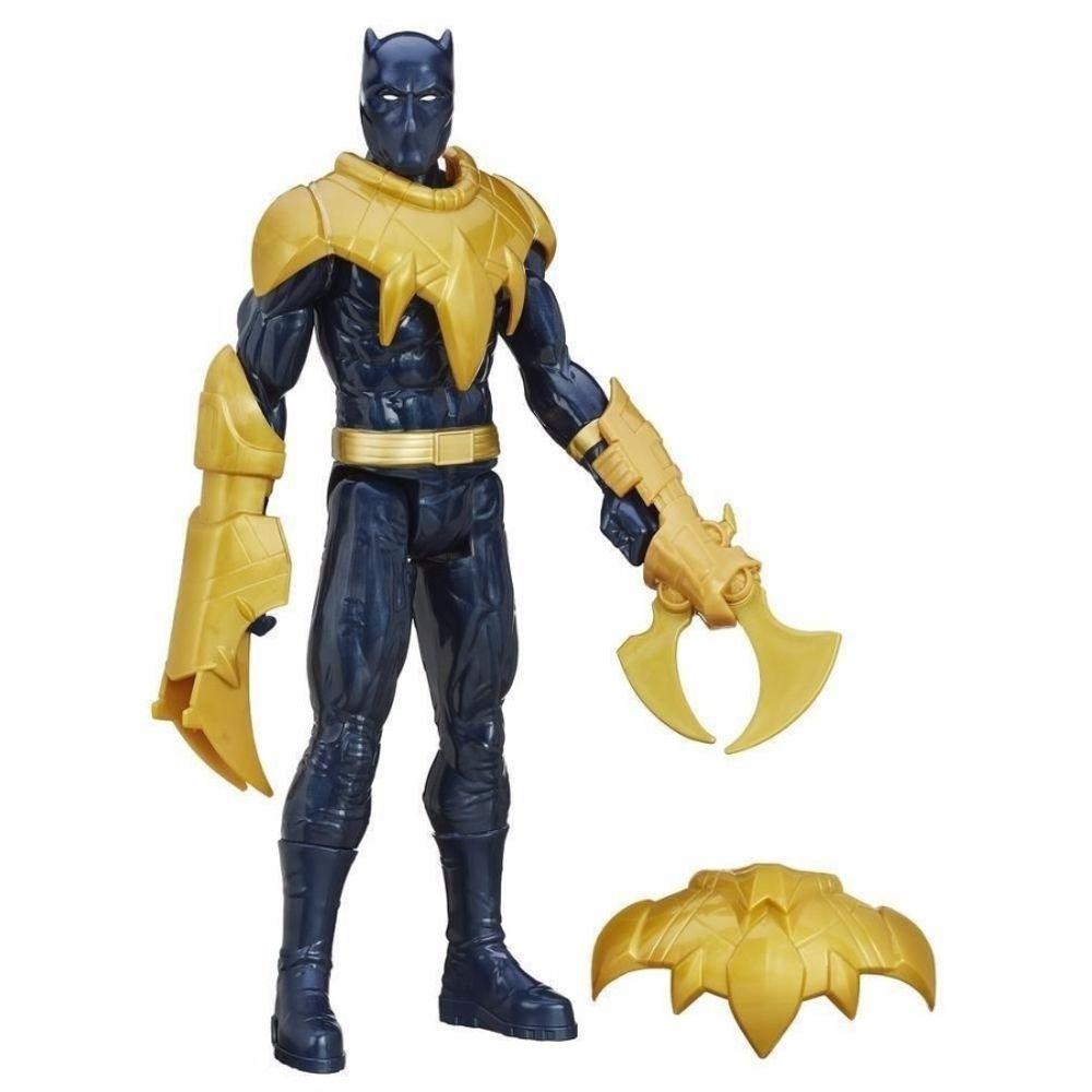 Boneco Avengers Pantera Negra Titan Hero Com Acessorios Hasbro