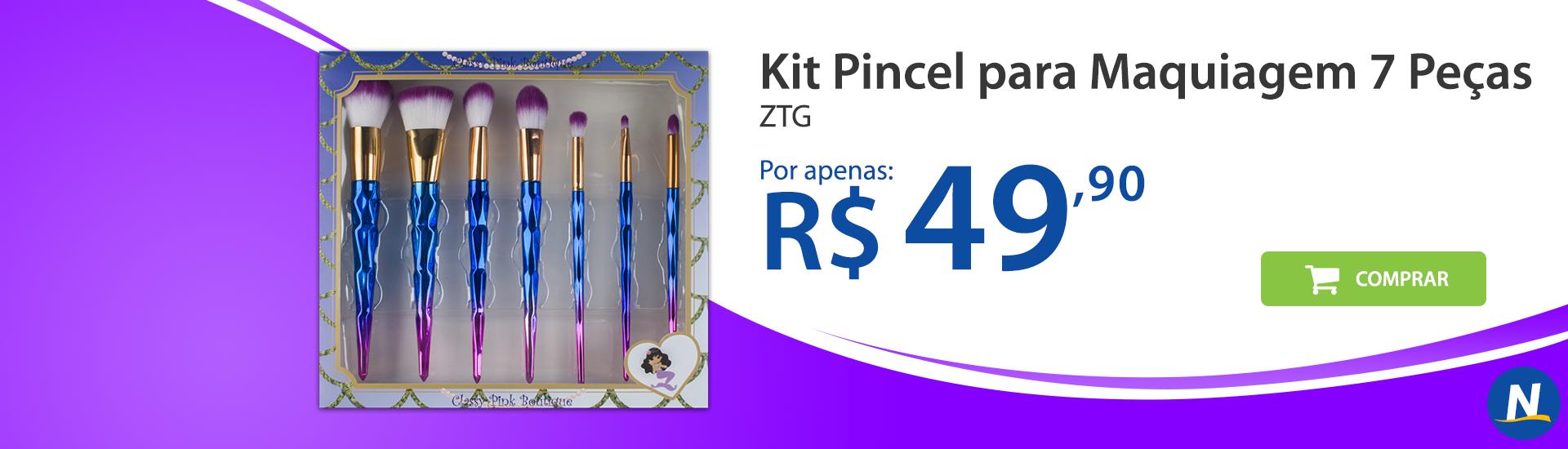 banner kit 7 pinceis