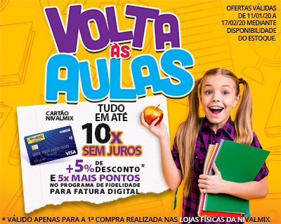 banner volta as aulas 2020